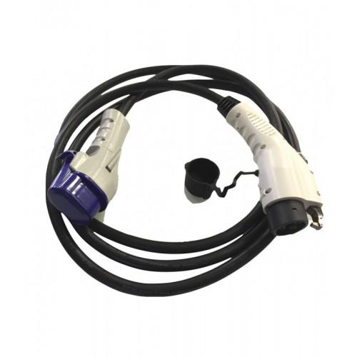 Přenosný nabíjecí kabel pro nabíjecí stanice Typ 1 - Typ 3C - 32A