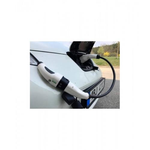 Přenosný nabíjecí kabel pro nabíjecí stanice Typ 1 - Typ 2 - 32A / Adaptér